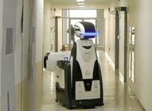 Robots patrolling a prison in South Korea