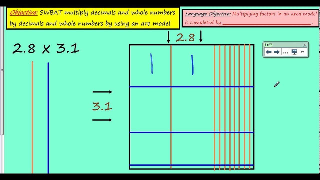 Multiplication Worksheets Area Model – Smart Kids Ideas [ 720 x 1280 Pixel ]