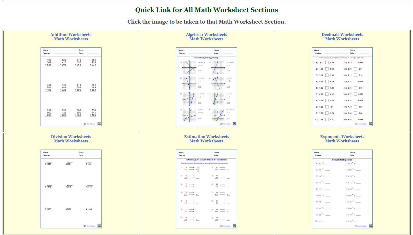 Long Multiplication Worksheets Maths Aids
