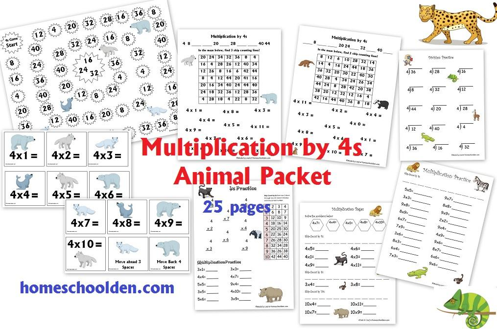 Multiplication Worksheets All Facts 2
