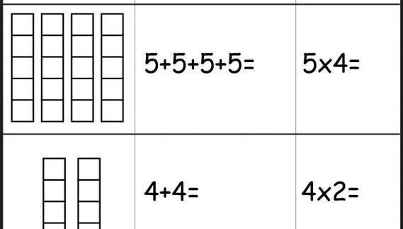 Multiplication Worksheets For Beginners
