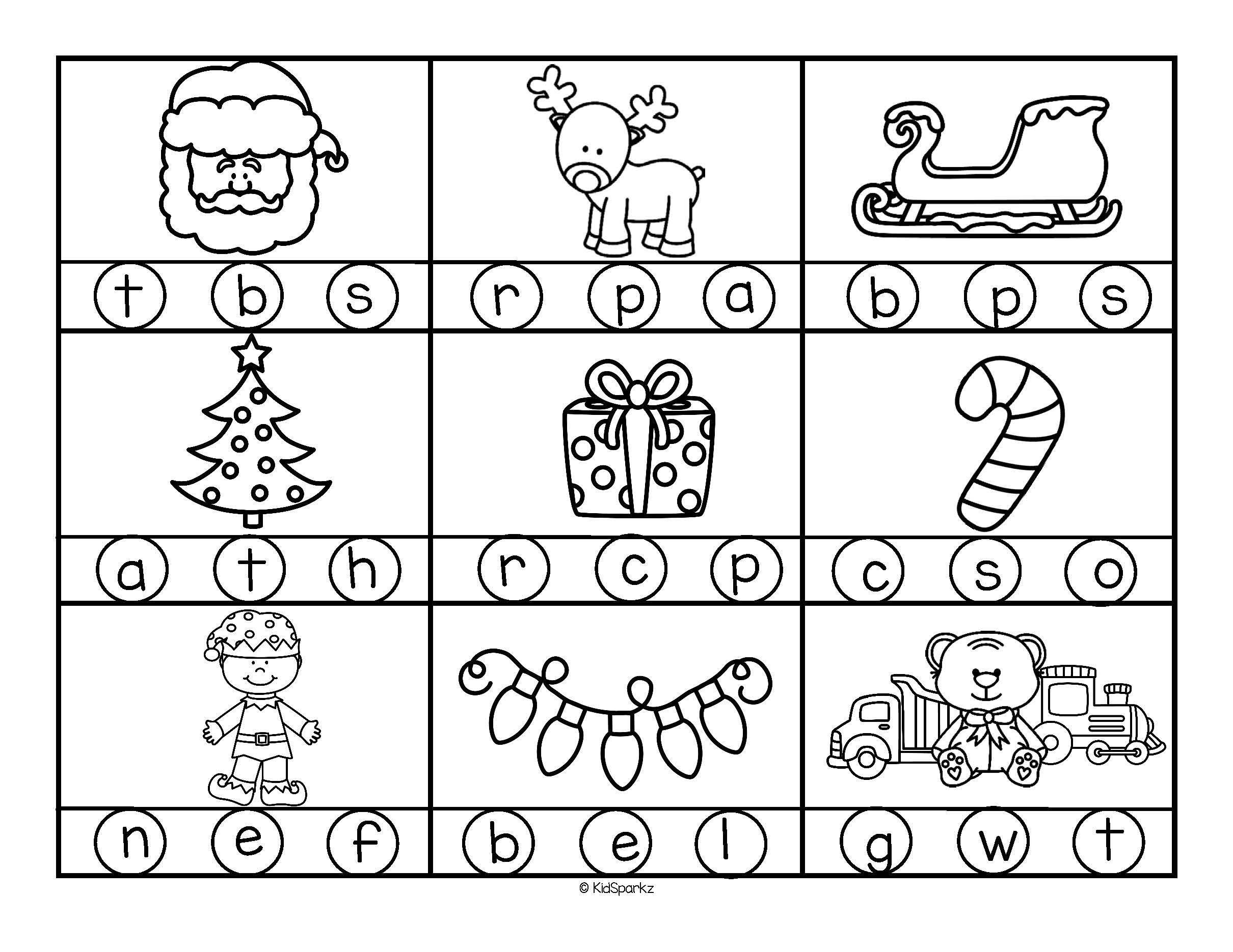 Letter Sounds Worksheets For Preschool