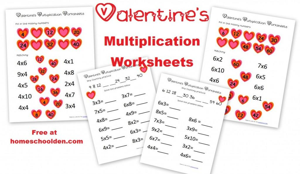 Multiplication Worksheets 3 4 5 6