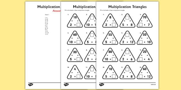 Multiplication Worksheets 5 Digits