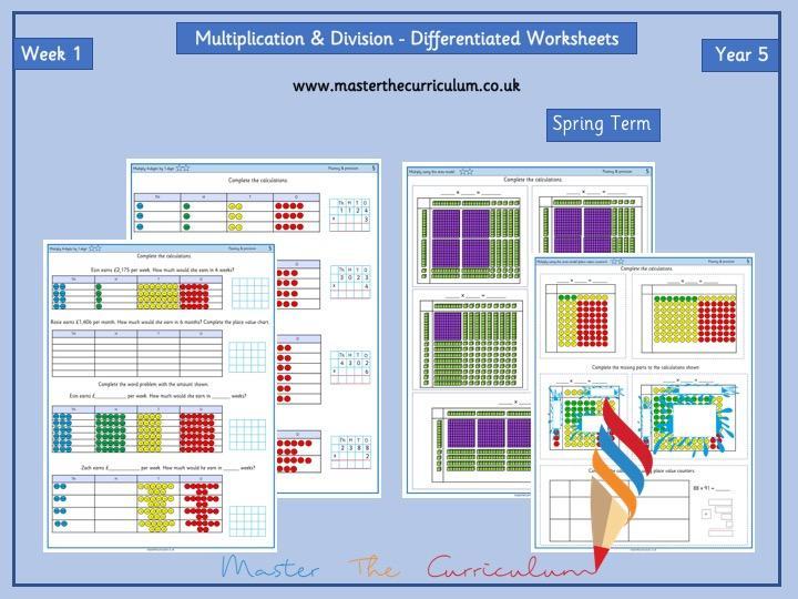 Multiplication Worksheets Grade 5 Pdf
