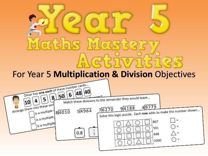 Multiplication Worksheets Grade 5