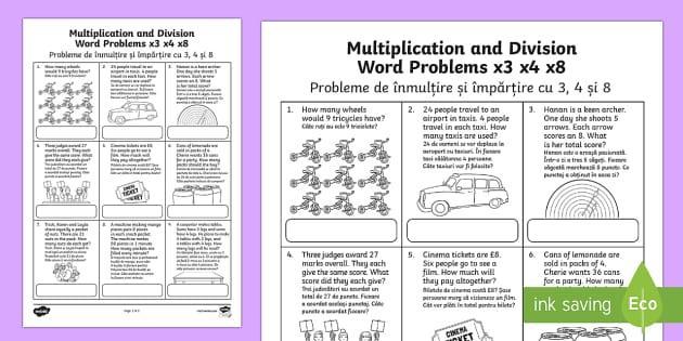 Multiplication Worksheets X3 4