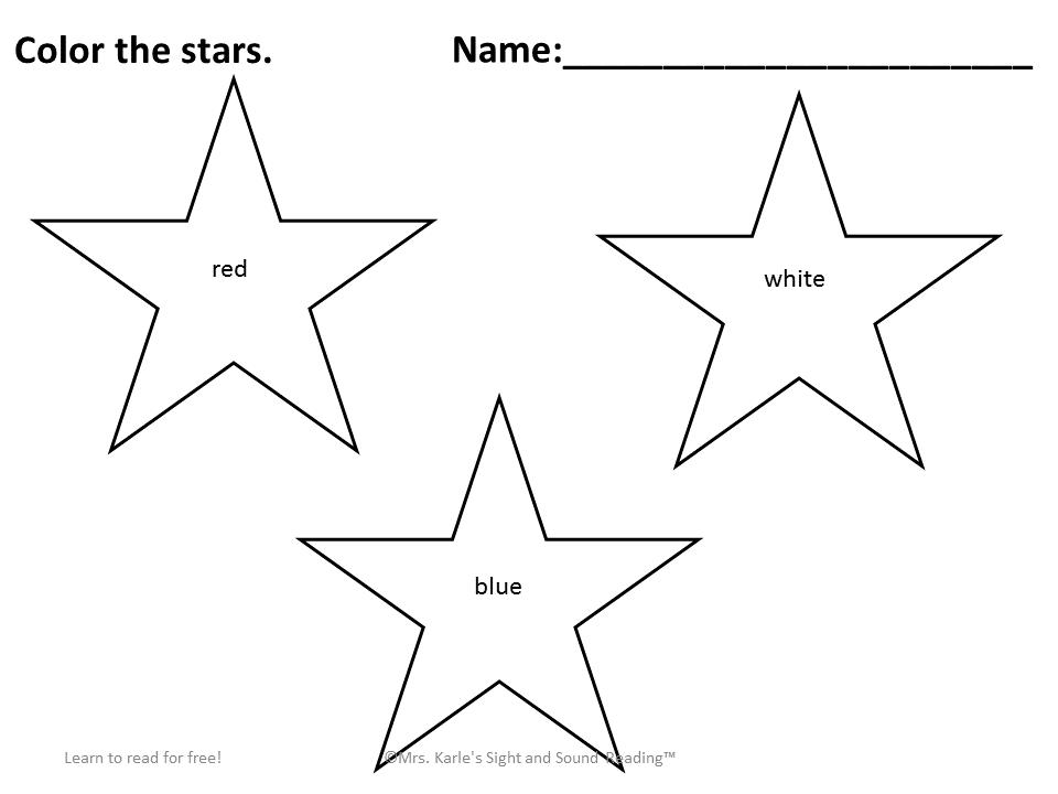 Preschool Fourth Of July Worksheets 2