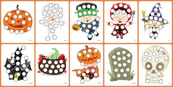 Preschool Halloween Worksheet Pdf