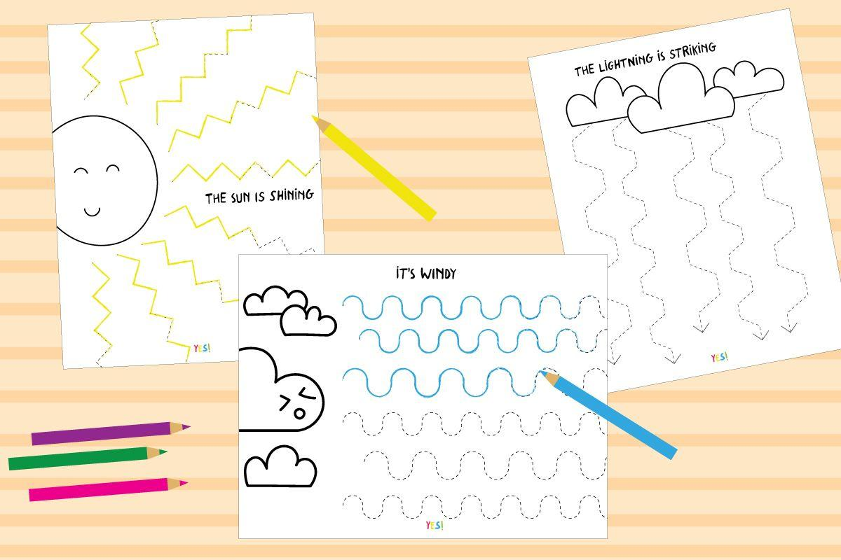 Preschool Worksheets Different Same 2