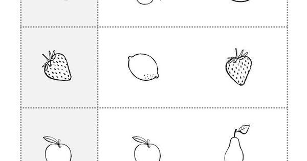 Preschool Worksheets Different Same 5