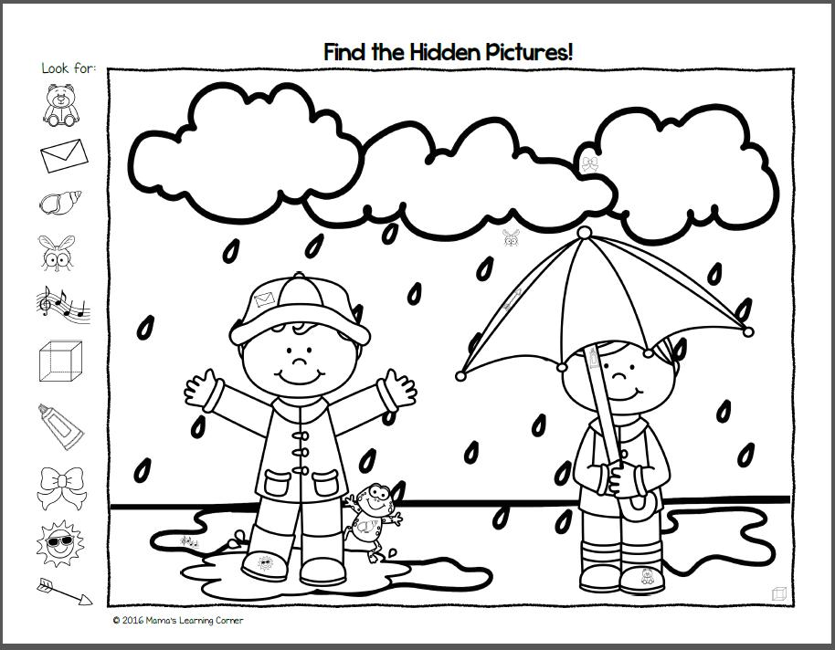 Preschool Worksheets Images 4