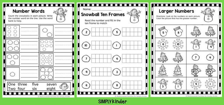 Easy Math Worksheets For 1st Grade
