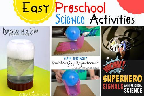 Easy Science Worksheets For Preschool