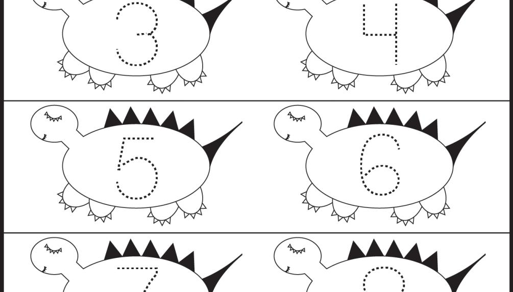 Free Printable Preschool Worksheets Tracing Letters And Numbers