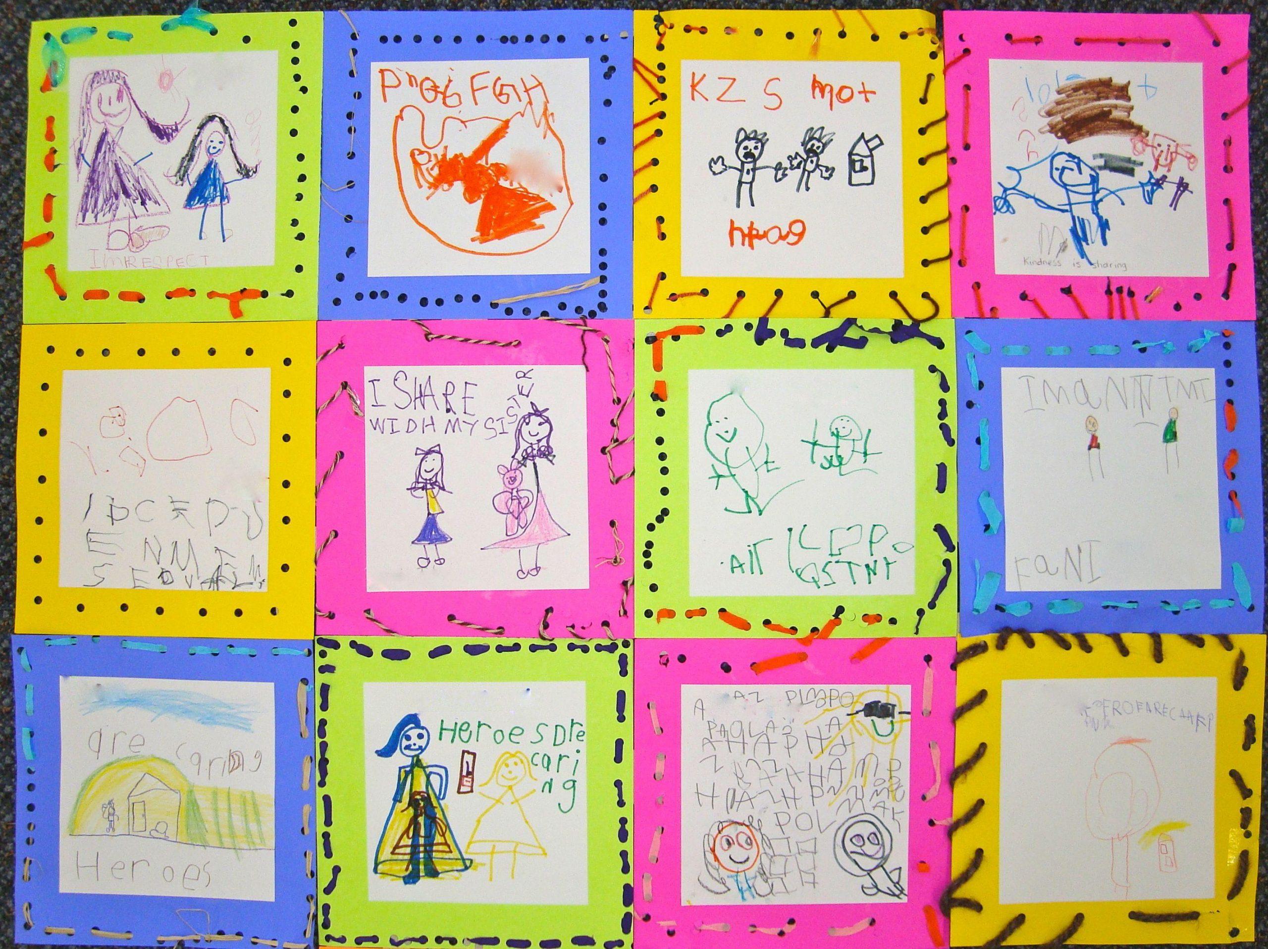 Kindness Worksheets For Preschool