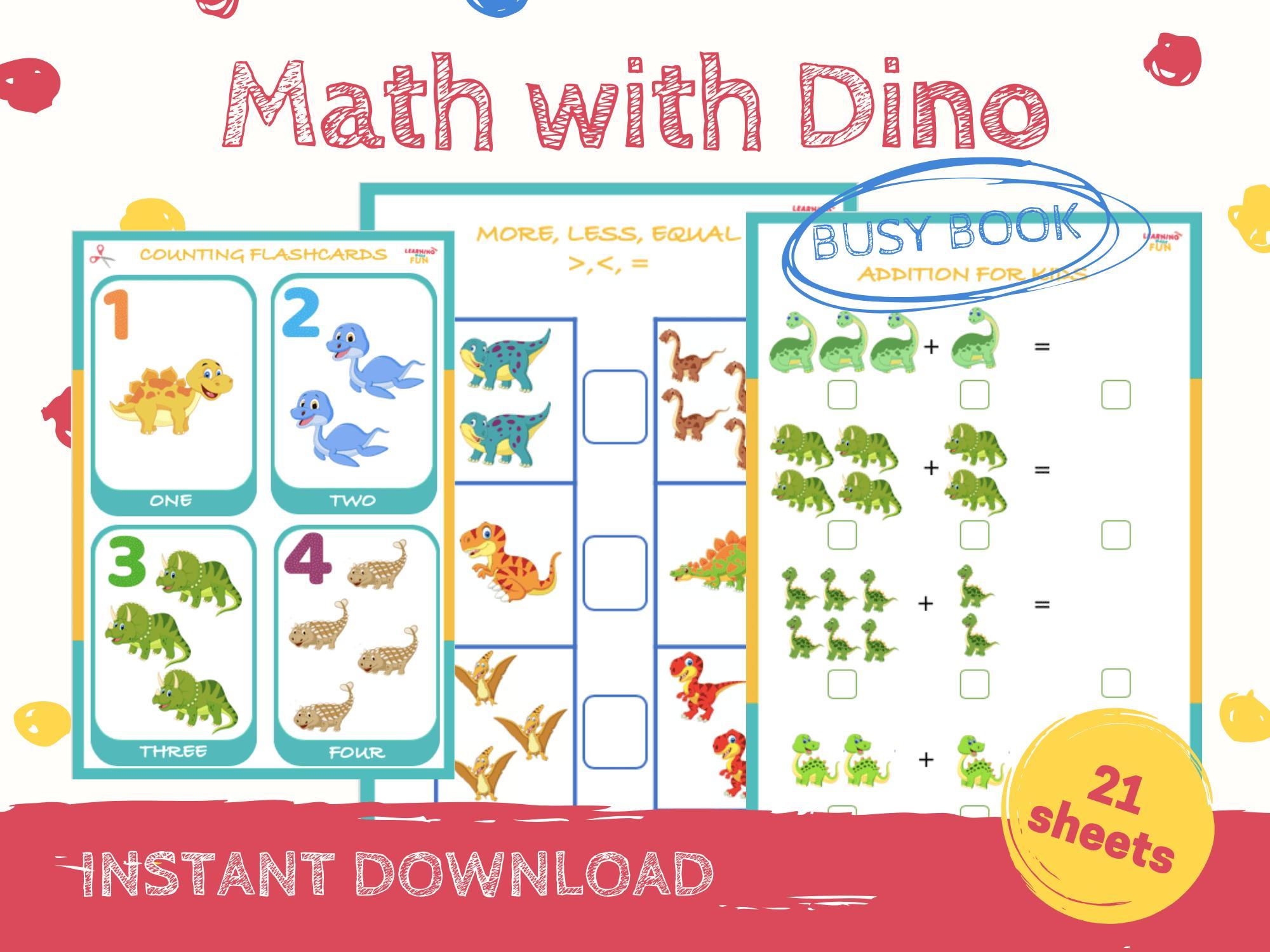 Math Practice Worksheets Book