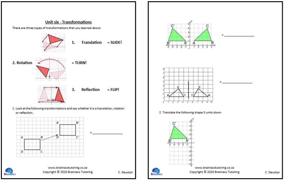 Math Worksheets Class 5 2