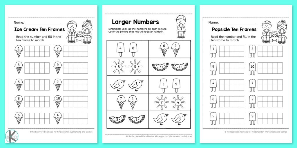 Math Worksheets Counting To 20