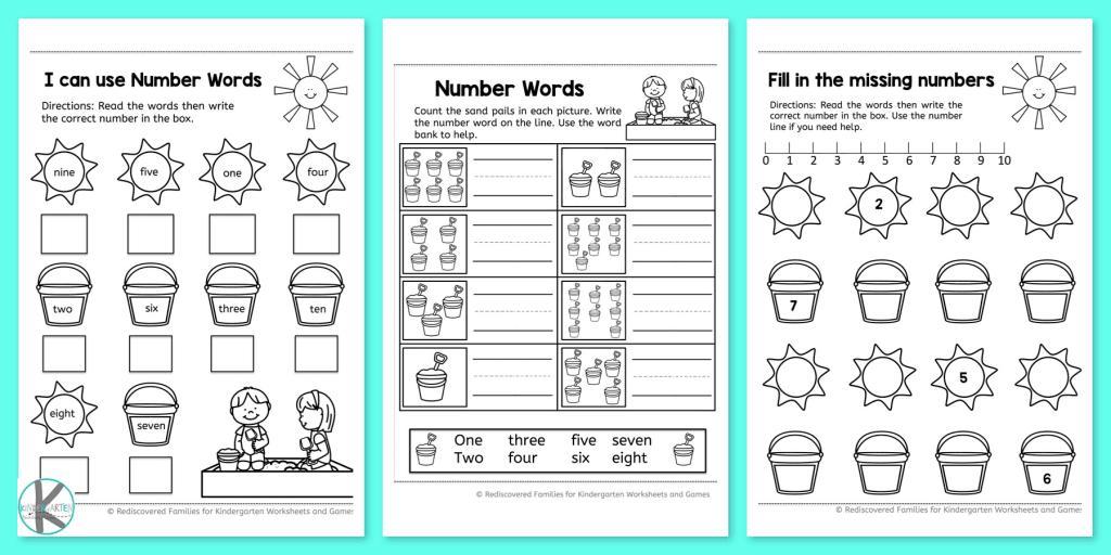 Math Worksheets For Kindergarten Addition And Subtraction
