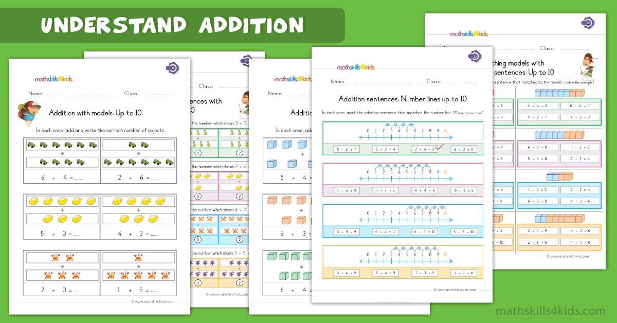 Math Worksheets Grade 1