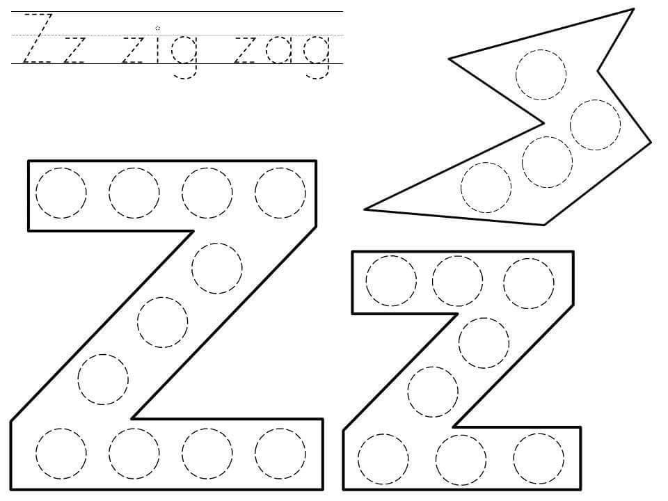 Preschool A-z Tracing Worksheets