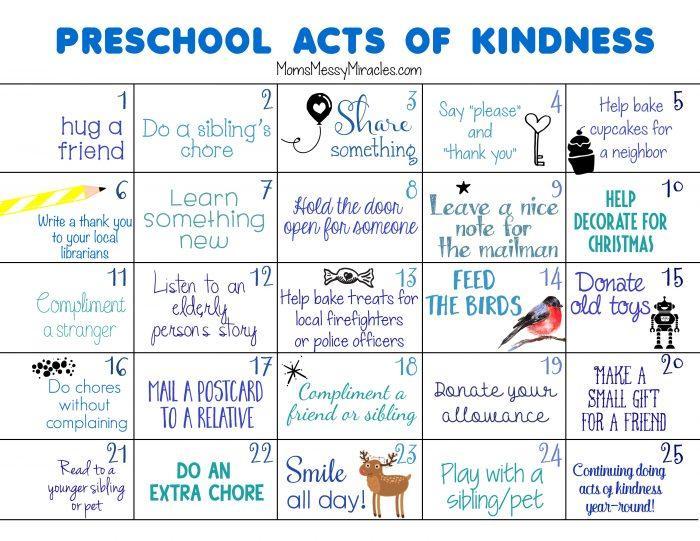 Preschool Kindness Worksheets 2