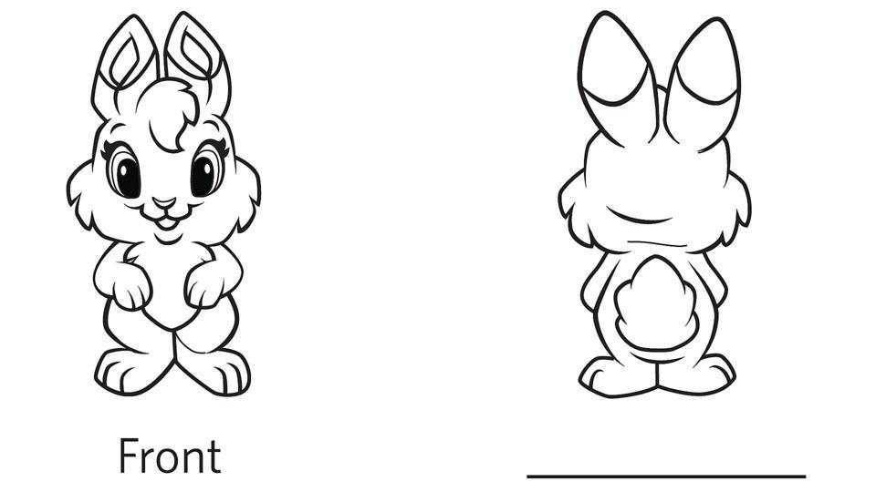 Preschool Opposites Theme Worksheets