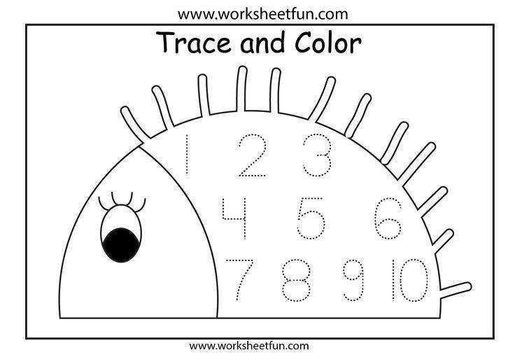 Preschool Pre K Math Worksheets