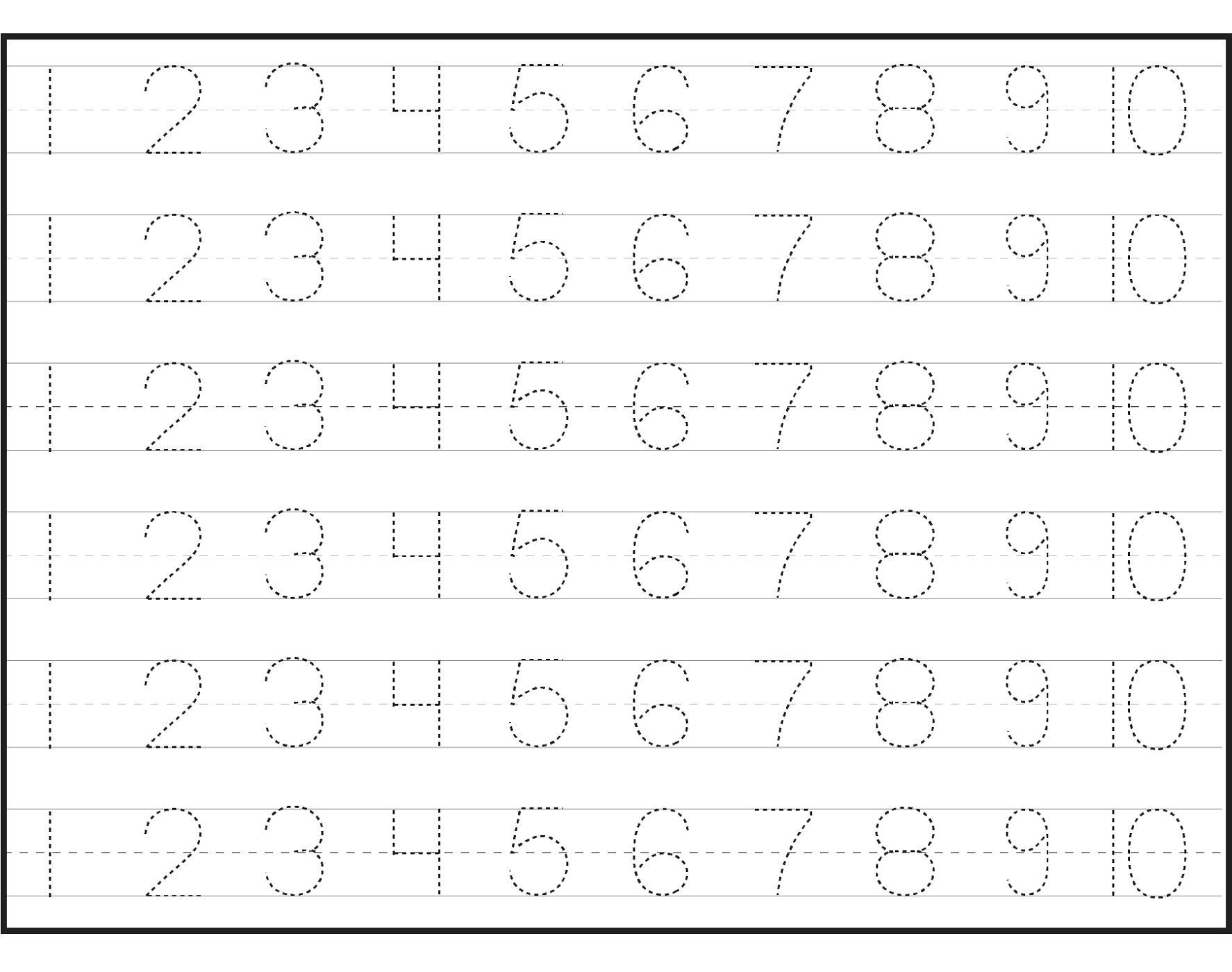Preschool Pre K Worksheets Free