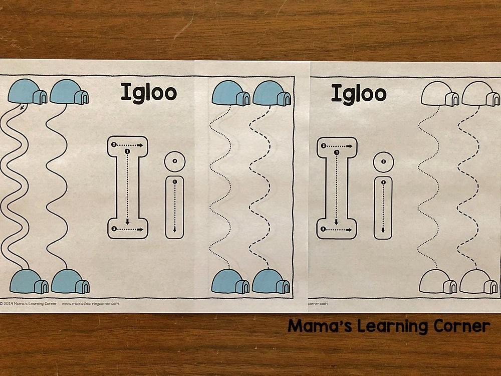 Preschool Winter Math Worksheets