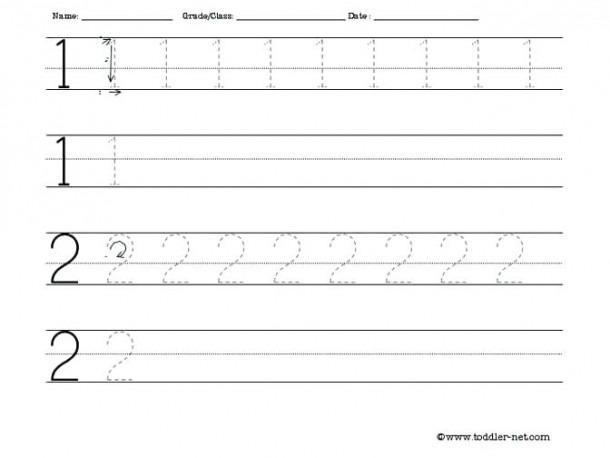 Preschool Worksheet Tracing Alphabet