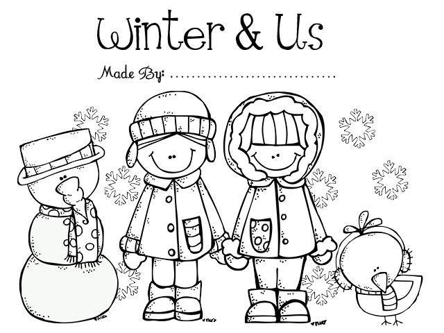 Preschool Worksheets Winter 1