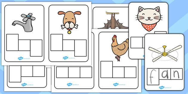 Preschool Worksheets With 3- Letter Words 9