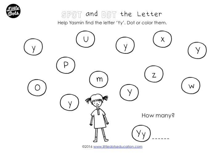 Preschool Y Worksheets 4