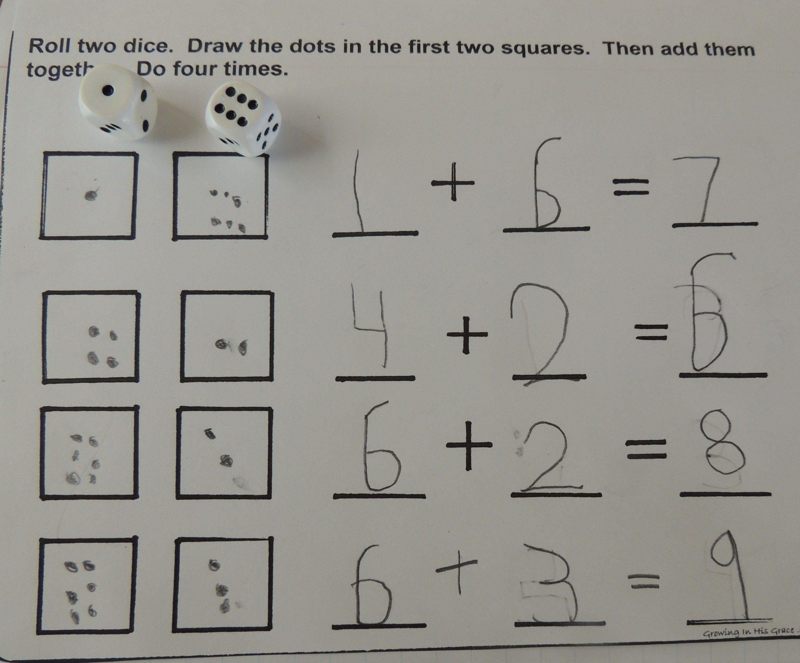 Free Printable Math Journal Prompts For Kindergarten