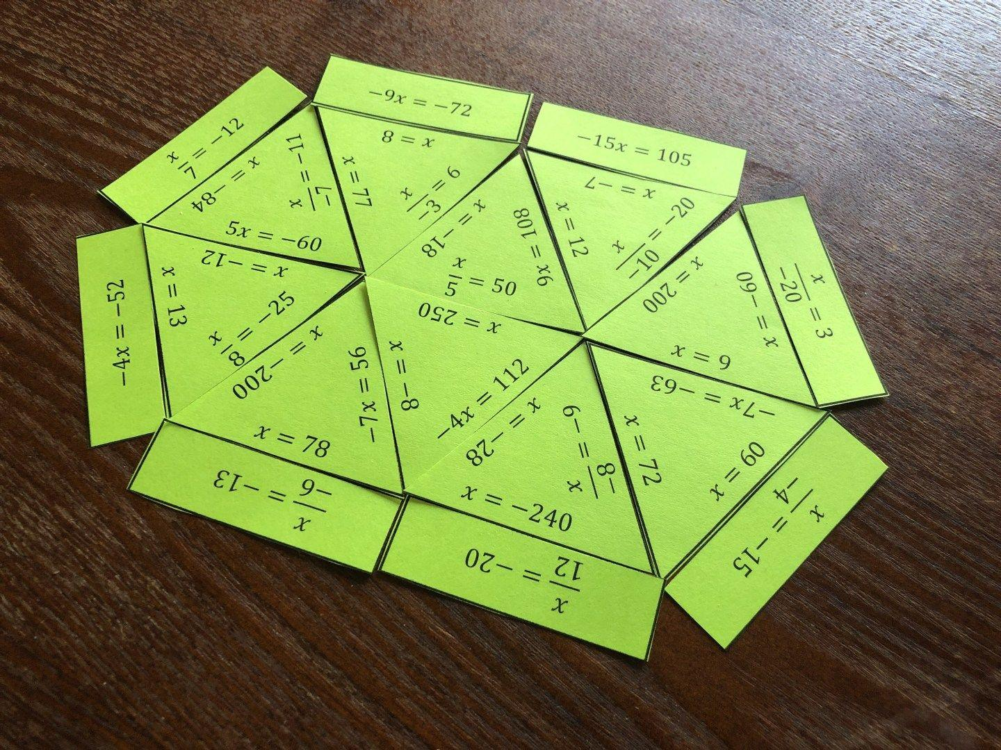 Fun Math Worksheets For Middle School Students