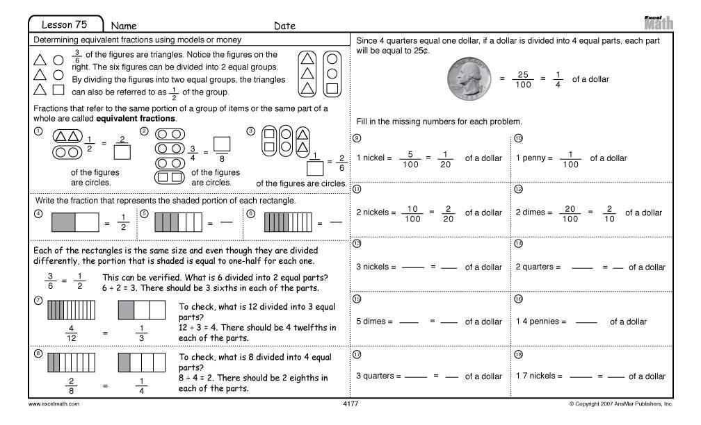 Math Quiz Worksheets For Grade 4 1