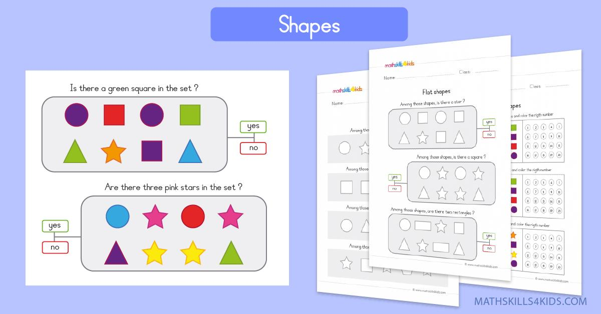 Math Worksheets For Pre Kg