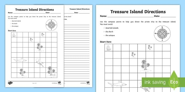 Math Worksheets Island 2