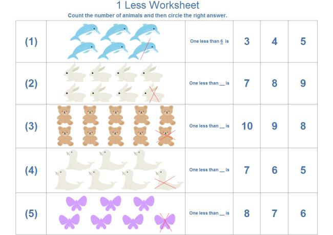 Math Worksheets Pictures
