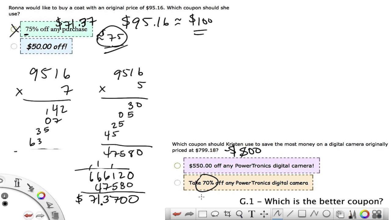 Math Worksheets Xl 7