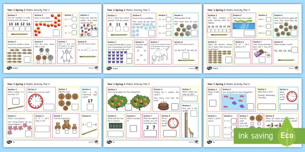 Maths Worksheets Year 1 Australia
