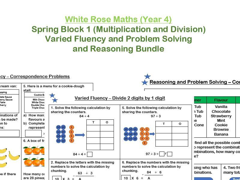 Maths Worksheets Year 4 Uk