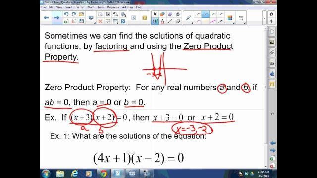 Algebra Worksheets Quadratic Equations 3