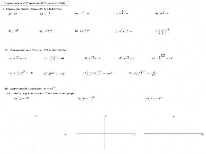 Algebra Worksheets Secondary 1 1