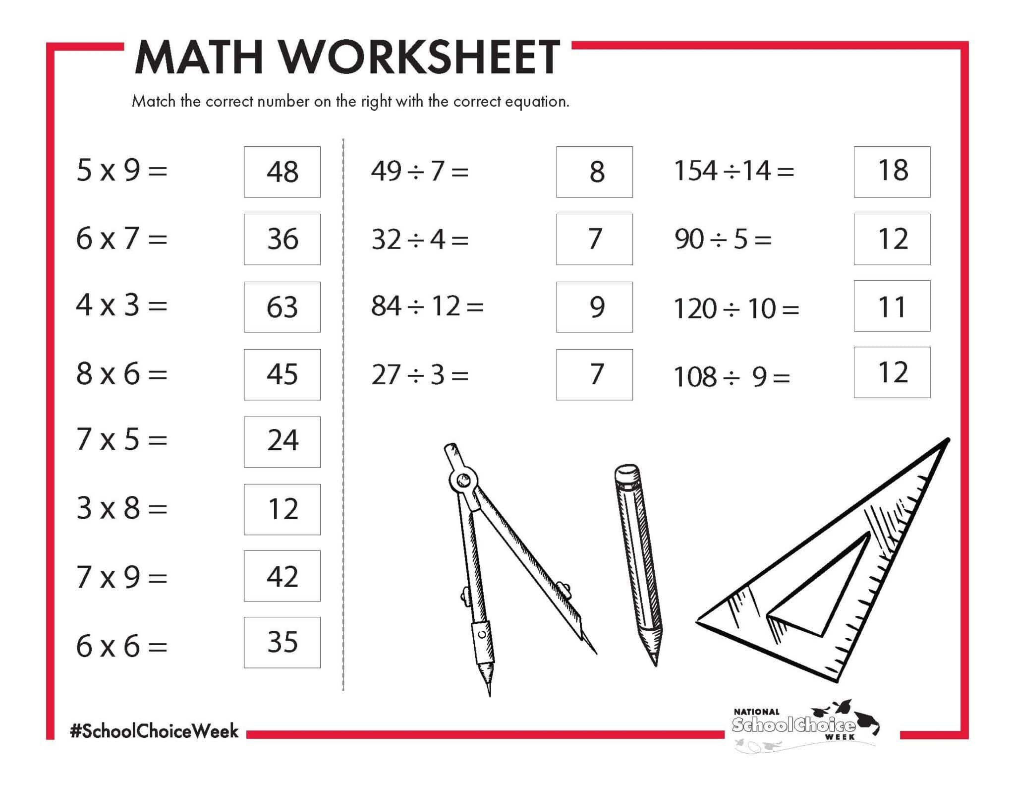 Algebra Worksheets University 4