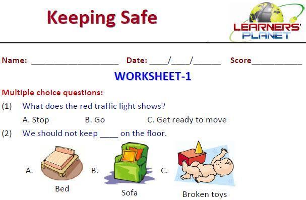 1st Grade Evs Worksheets