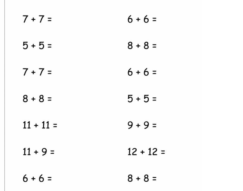 1st Grade Fraction Worksheets