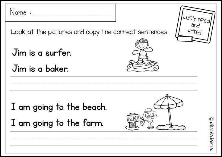 1st Grade Writing Worksheets Blank